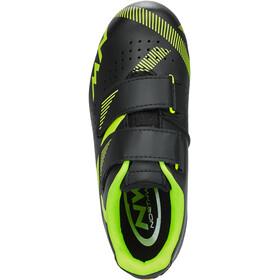 Northwave Torpedo 2 Shoes Kids black/yellow fluo